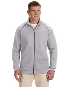 Sport Grey Premium Cotton™ 9 oz. Ringspun Fleece Full-Zip Jacket