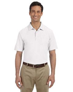 White DryBlend™ 6.5 oz. Pique Sport Shirt