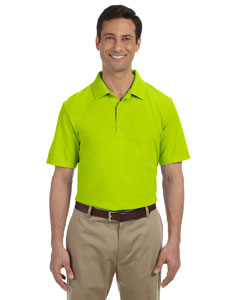 Safety Green DryBlend™ 6.5 oz. Pique Sport Shirt