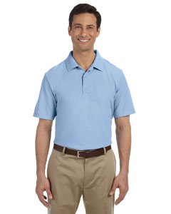 Light Blue DryBlend™ 6.5 oz. Pique Sport Shirt