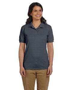Charcoal Women's 6.5 oz. DryBlend™ Piqué Sport Shirt