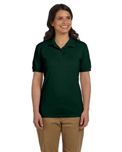 Forest Green Women's 6.5 oz. DryBlend™ Piqué Sport Shirt