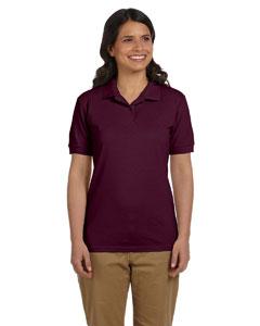 Maroon Women's 6.5 oz. DryBlend™ Piqué Sport Shirt