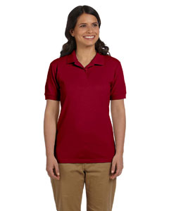 Cardinal Red Women's 6.5 oz. DryBlend™ Piqué Sport Shirt