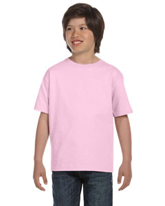 Classic Pink Youth 6 oz., 100% Cotton Lofteez HD® T-Shirt