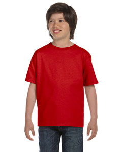 True Red Youth 6 oz., 100% Cotton Lofteez HD® T-Shirt