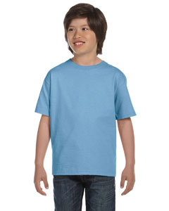 Light Blue Youth 6 oz., 100% Cotton Lofteez HD® T-Shirt