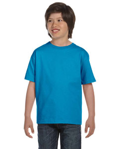 Pacific Blue Youth 6 oz., 100% Cotton Lofteez HD® T-Shirt
