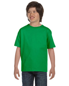 Kelly Green Youth 6 oz., 100% Cotton Lofteez HD® T-Shirt