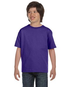 Purple Youth 6 oz., 100% Cotton Lofteez HD® T-Shirt