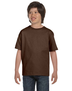 Chocolate Youth 6 oz., 100% Cotton Lofteez HD® T-Shirt