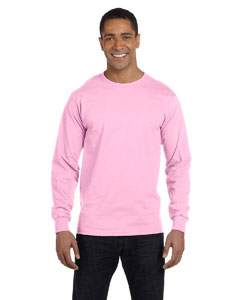 Classic Pink 6 oz., 100% Cotton Lofteez HD® Long-Sleeve T-Shirt
