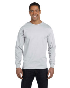 Ash 6 oz., 100% Cotton Lofteez HD® Long-Sleeve T-Shirt