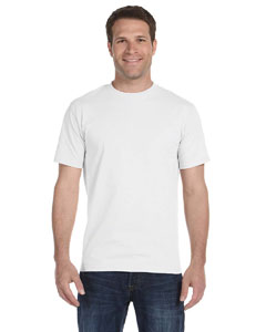 White 6 oz., 100% Cotton Lofteez HD® T-Shirt