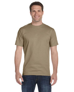 Khaki 6 oz., 100% Cotton Lofteez HD® T-Shirt