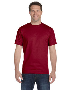 Maroon 6 oz., 100% Cotton Lofteez HD® T-Shirt
