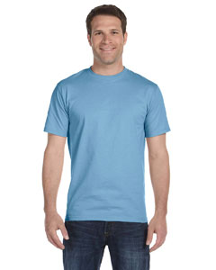Light Blue 6 oz., 100% Cotton Lofteez HD® T-Shirt