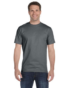 Charcoal 6 oz., 100% Cotton Lofteez HD® T-Shirt