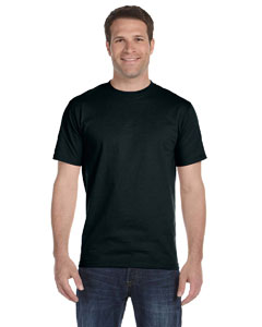 Black 6 oz., 100% Cotton Lofteez HD® T-Shirt