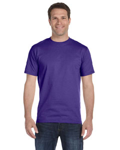 Purple 6 oz., 100% Cotton Lofteez HD® T-Shirt