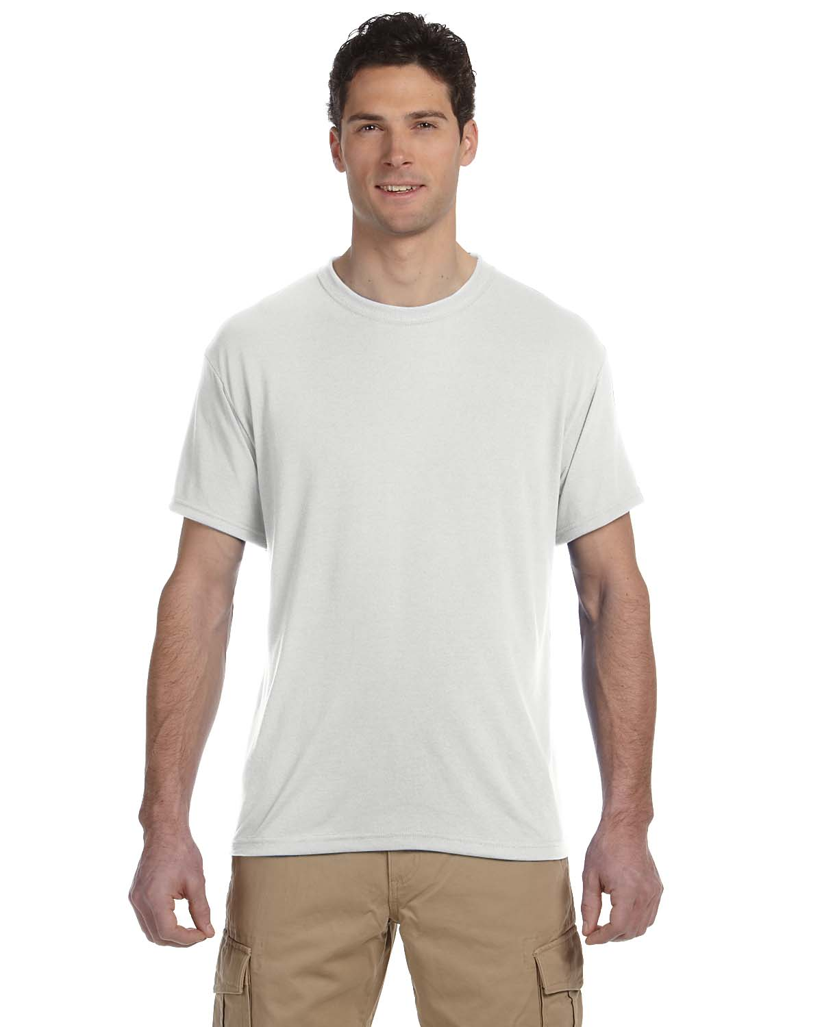 Jerzees 21m 100 polyester sport t shirt shirtmax for Polyester t shirts for men