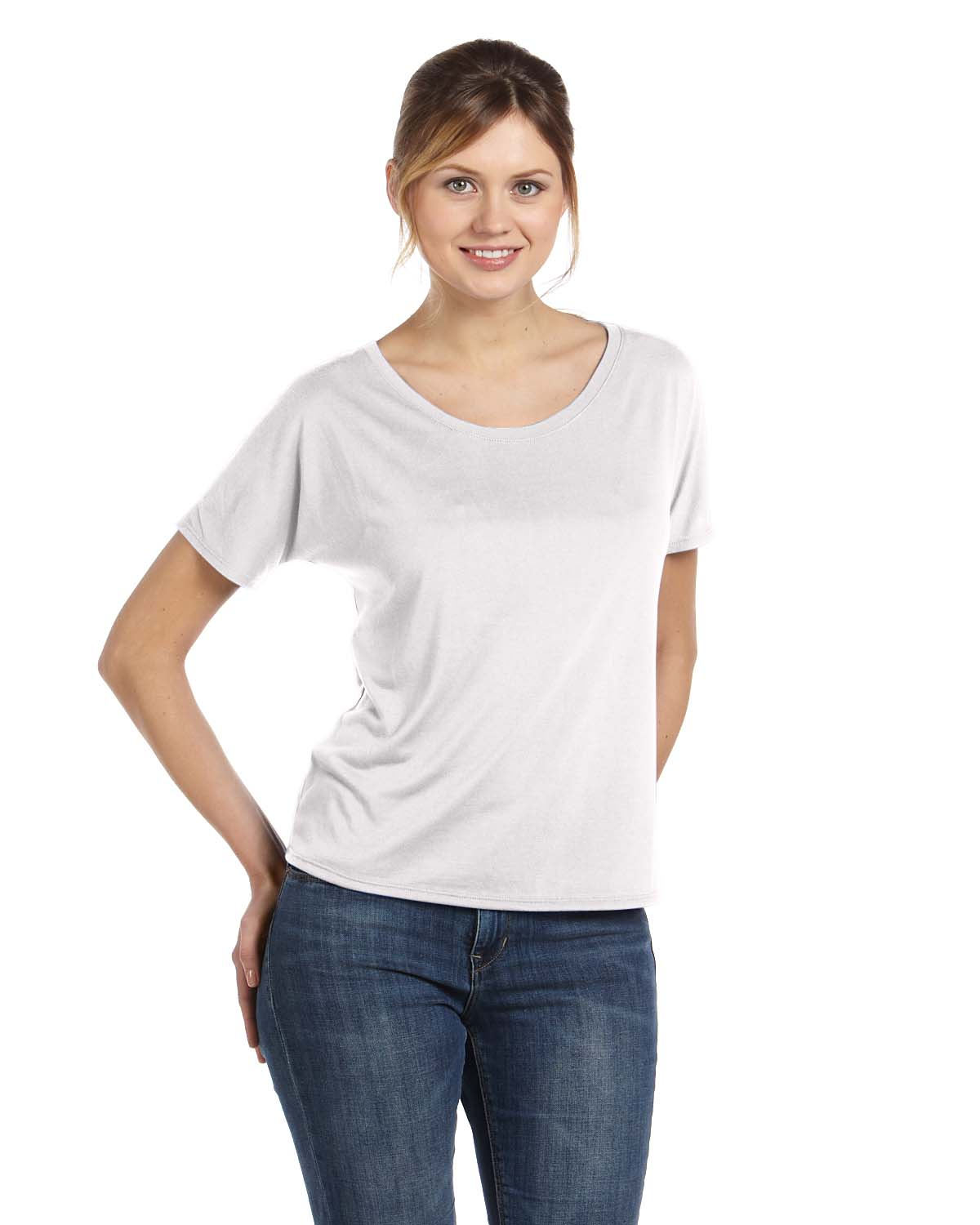 Women 39 S Flowy Simple T Shirt Shirtmax