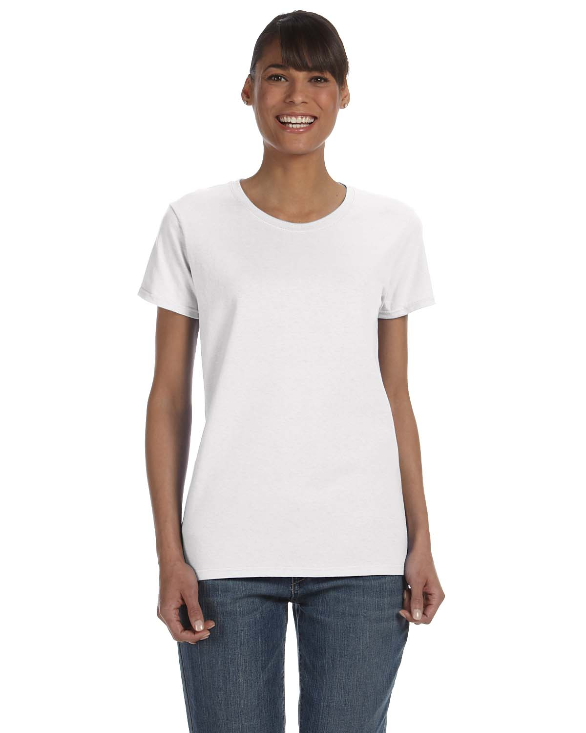 White t shirt for womens - T Shirts