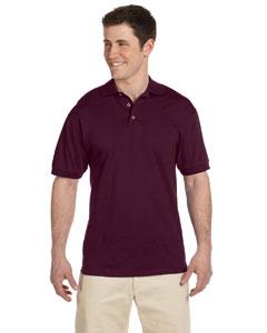 Maroon 6.1 oz. Heavyweight Cotton Jersey Polo