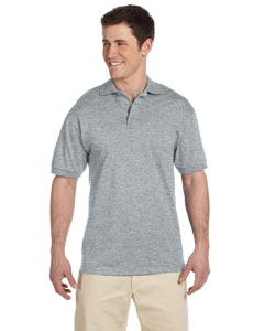 Athletic Heather 6.1 oz. Heavyweight Cotton Jersey Polo