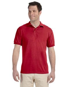 True Red 5.6 oz. Heavyweight Blend™Jersey Polo