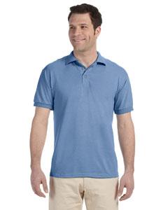Light Blue 5.6 oz. Heavyweight Blend™Jersey Polo