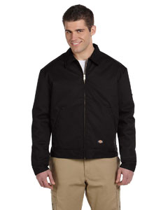 Black 8 oz. Lined Eisenhower Jacket