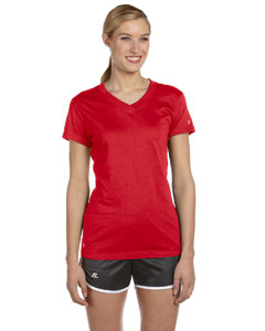 True Red Women's Dri-Power® V-Neck T-Shirt