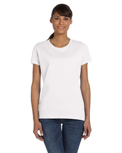 White Women's 5 oz., 100% Heavy Cotton HD™ T-Shirt
