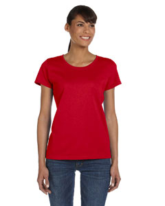 True Red Women's 5 oz., 100% Heavy Cotton HD™ T-Shirt