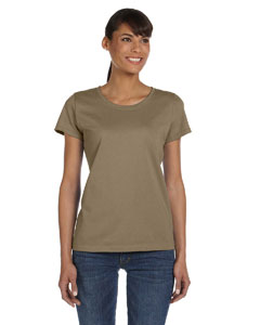 Khaki Women's 5 oz., 100% Heavy Cotton HD™ T-Shirt