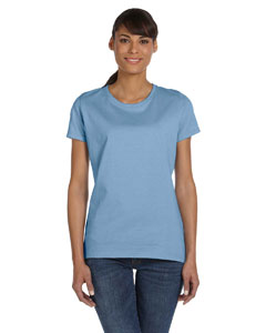 Light Blue Women's 5 oz., 100% Heavy Cotton HD™ T-Shirt