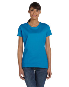 Pacific Blue Women's 5 oz., 100% Heavy Cotton HD™ T-Shirt