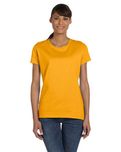 Gold Women's 5 oz., 100% Heavy Cotton HD™ T-Shirt