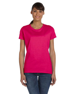 Cyber Pink Women's 5 oz., 100% Heavy Cotton HD™ T-Shirt