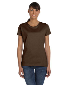 Chocolate Women's 5 oz., 100% Heavy Cotton HD™ T-Shirt