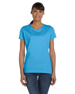 Aquatic Blue Women's 5 oz., 100% Heavy Cotton HD™ T-Shirt