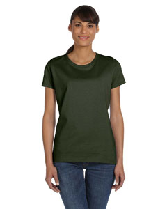 Military Green Women's 5 oz., 100% Heavy Cotton HD™ T-Shirt