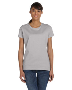 Silver Women's 5 oz., 100% Heavy Cotton HD™ T-Shirt