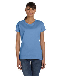 Columbia Blue Women's 5 oz., 100% Heavy Cotton HD™ T-Shirt
