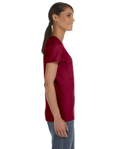 Maroon Women's 5 oz., 100% Heavy Cotton HD™ T-Shirt