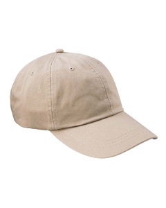 Stone 6-Panel Low-Profile True Color Twill Cap