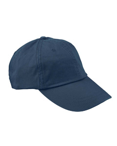 Navy 6-Panel Low-Profile True Color Twill Cap