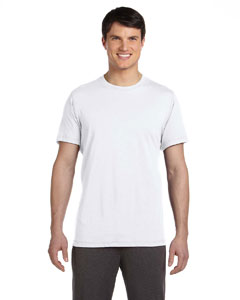 White Men's Dri-Blend Short-Sleeve T-Shirt