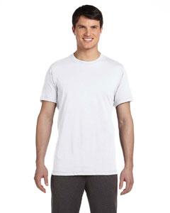 White Men's Dri-Blend Short-Sleeve T-Shirt